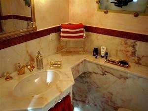 Gäste Wc Renovieren : gold marmor im g ste wc bad 018 b der dunkelmann ~ Markanthonyermac.com Haus und Dekorationen
