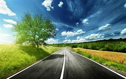Road Background Wallpapers Desktop Mobile Roads Simple