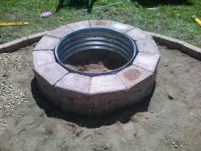 Homemade Outdoor Fire Pit Rings
