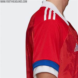 Russia Euro 2020 Home Kit Released - Footy Headlines