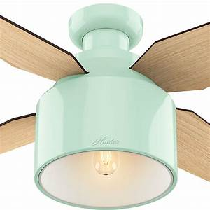 Mind blowing low profile ceiling fan with light