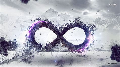 Infinite Background Galaxy Infinity Sign Wallpapers Wallpapersafari