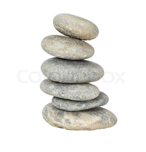 ein stapel von etwas abseits ausgewogene zen steine