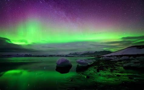 iceland october northern lights full hd desktop wallpaper download full hd desktop images