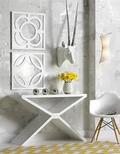 Le meuble console d' entrée complète le style de votre