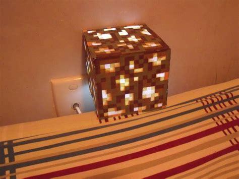 Minecraft Bedroom Light by Diy Glowstone L L Light Papercraft And Lights