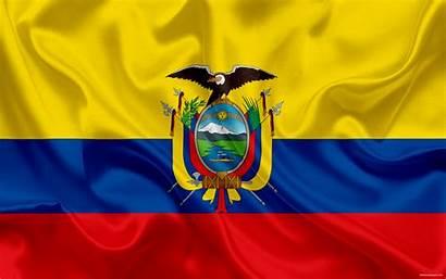 Ecuador Flag National Ecuadorian South America Wallpapers