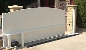 Installateur De Portail Motorisé : portail lectrique aluminium motorisation invisible portail ~ Farleysfitness.com Idées de Décoration