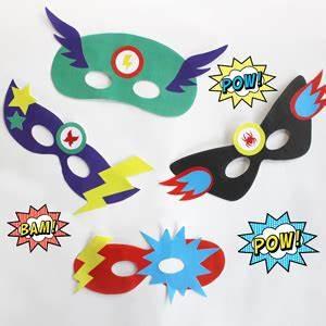 Atelier DIY masque superhéros School - Carnival costumes