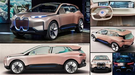 bmw vision inext concept  pictures information