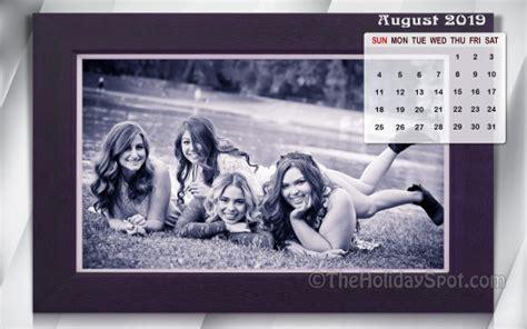 august  calendar wallpaper wallpapers