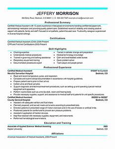 best medical assistant resume example livecareer With how to do a medical assistant resume