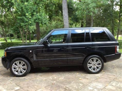 luxury black range rover find used 2012 range rover hse luxury edition silver