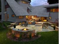 best patio and fire pit design ideas Backyard design ideas with fire pit Photo - 5   Design ...
