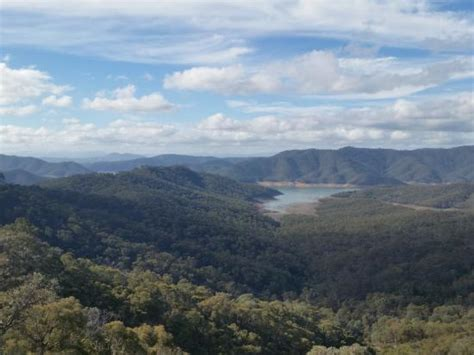 Fishing Boat Hire Eildon by Eildon Boat Club Mooring At Low Water Picture Of Lake
