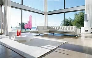 le salon roche bobois un conte de fee moderne archzinefr With tapis couloir avec canapé contemporain roche bobois