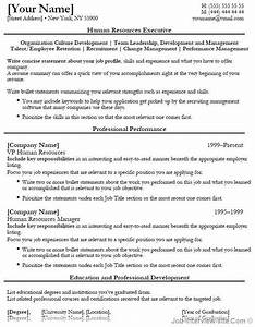 free 40 top professional resume templates With entry level human resources resume