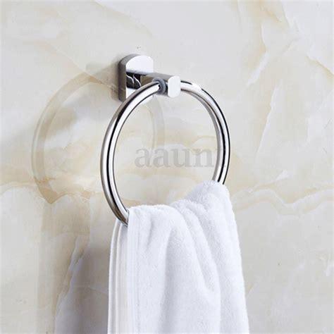 sliver wall mounted towel ring hand towel rack holder