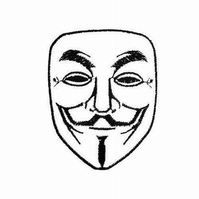 Cwc Hacker Coloring Mask Template Anonymous