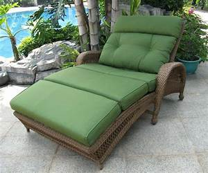 Lounge Sofa Outdoor : outdoor double chaise lounge design the homy design ~ Markanthonyermac.com Haus und Dekorationen