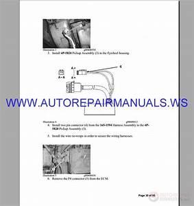 Caterpillar 3406 Engine Repair Manual From 2005