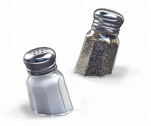 Sunk-in, Salt, And, Pepper, Shakers