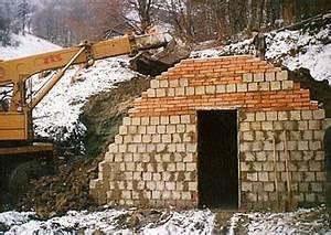 Stavba garáže postup