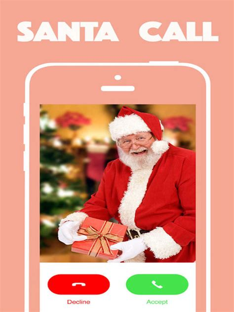 app shopper santa claus calls video call christmas for