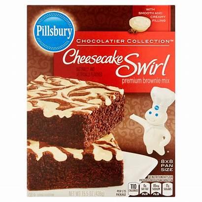 Pillsbury Brownie Mix Cheesecake Swirl Fudge Walmart