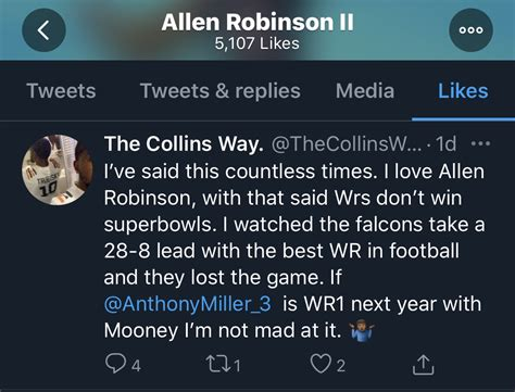 Bears WR Allen Robinson tweets out cryptic messages