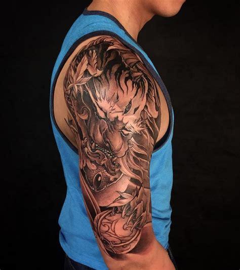 foo dog tattoos design  ideas