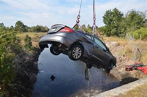 Car Dives Into a Pond Off I-95 in a Spectacular 2-Vehicle ...  Wreck