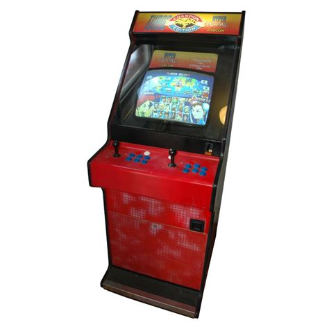 prop hire fighter ii arcade cabinet