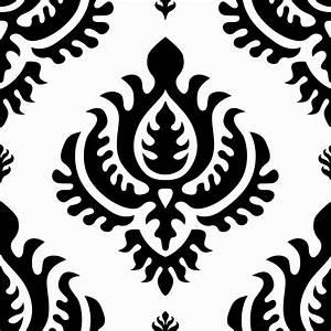 Grafische Muster Schwarz Weiß : klebefolie neo barock schwarz weiss damast muster selbstklebefolie ~ Bigdaddyawards.com Haus und Dekorationen