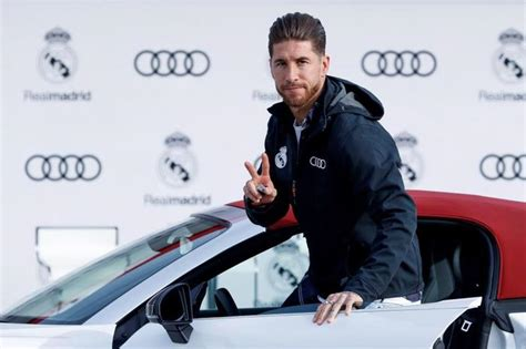 real madrid stars   luxury audis  world game