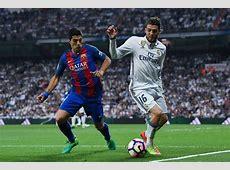 Supercopa de España 1st leg Barcelona vs Real Madrid, El