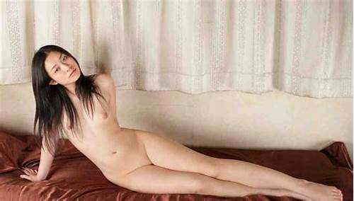 Korean Chick Pleases Three Guys Bedroom Once #Hot #Brunette #Babe #Gives #Doggy #Style #Pose #To #Showing #Her