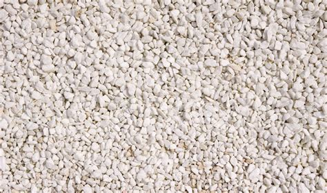 ghiaia texture a texture of white gravel closeup in day