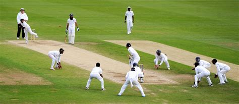 Rangana Herath bowls with a packed close-in field | Photo ...