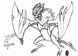 Zenith Coloring Pages Noivern Template sketch template