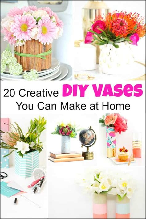 Decorating Ideas For Vases by 20 Creative Diy Vases For Decorating Your Home On A Budget