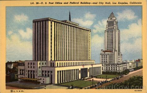 U.s. Post Offcie And Federal Building, And City Hall Los