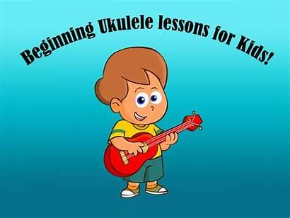 Ukulele Lessons Teaching Children Beginning Play Lesson