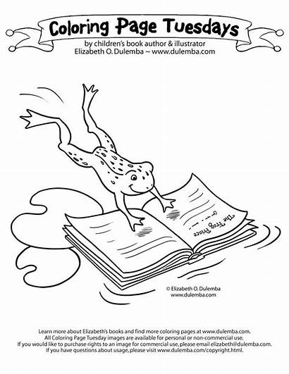 Coloring Library Pages Week National Coloringhome