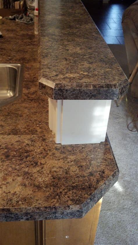 kitchen countertop edging bevel edge laminate countertop trim in formica 7734