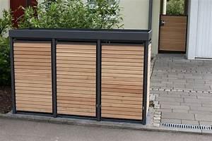 Mülltonnenbox Mit Paketbox : m lltonnenbox holz l rche mit alu komplett aus l rche zaun fackler m lltonnenbox holz ~ Sanjose-hotels-ca.com Haus und Dekorationen