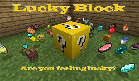 Lucky Block Mod 1102,194,189,1710  Minecraft Mods