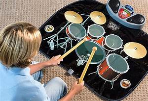 Rock 39N39 Roll Electronic Drum Mat Sharper Image