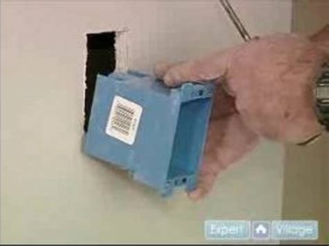 how to install an electrical outlet box how to install electrical outlets installing an