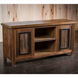 Barnwood timber frame tv stand by tim scott for Barnwood media cabinet